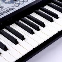 电子琴54键力度琴键 儿童初学早教学LED显示屏练习琴 带教程乐谱架