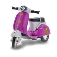 迷你Q版可爱 合金车 女式摩托车模 龟仔回力儿童玩具车 车模型