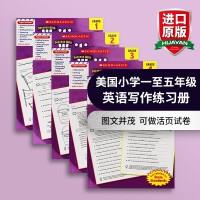正版 美国小学一至五年级英语写作练习册 学乐进口英文原版教材 Scholastic Success with Writ
