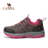 camel 骆驼户外情侣款徒步鞋 男女保暖减震防滑户外鞋