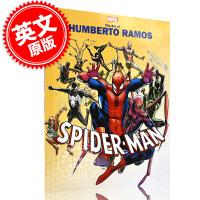 现货 漫威艺术专辑 亨贝托・拉莫斯个人艺术作品 蜘蛛侠 英文原版 Marvel Monograph: The Art