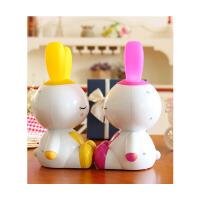 小白兔子会唱歌婴儿童故事机早教机可充电下载宝宝音乐播放器玩具