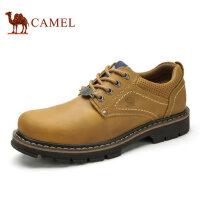 camel骆驼男鞋 秋季新品 优质油疯马牛皮户外休闲工装鞋休闲鞋