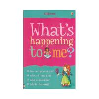 What's Happening To Me Girl 我怎么了女孩版 儿童成长英语问答百科 英文原版图书