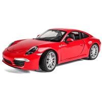 模型仿真合金车模汽车装饰摆件1 24 原厂保时捷911跑车