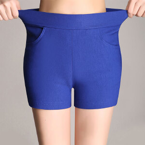 卡茗语打底裤女夏季防走光安全裤白色裤子紧身大码外穿薄款女士短裤