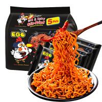 马来西亚进口EGO超辣火鸡面140g*5进口方便面速食面拌面