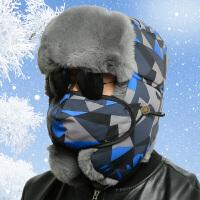 冬季新款男士加厚雷锋帽保暖帽子男冬天户外骑摩托车防风护耳棉帽