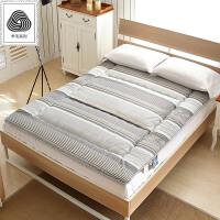 羊毛床垫褥子全棉厚垫被大学生宿舍床垫0.9单双人床1.8米 海韵羊毛四季床褥 加密内芯更结实