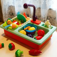 儿童洗碗机玩具出水厨房水池过家家女孩男宝宝做饭玩具生日礼物