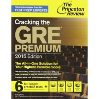 Cracking the GRE Premium Edition with 6 Practice Tests 普林斯顿