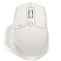 Logitech/罗技 MX Master 2S 蓝牙+2.4G双模无线鼠标 亚光白 商务办公家用无线鼠标