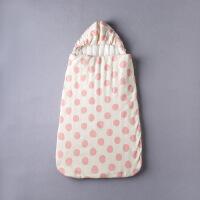 儿童睡袋婴幼儿防踢被新生儿抱被秋冬季加厚纯棉抱被睡兜 95*52cm(0-18个月)