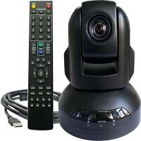 3倍变焦视频会议摄像头1080P高清电脑摄像头远程教学直播高清网络摄像头USB免驱摄像头遥控360°