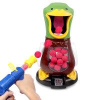 打我鸭呀儿童男孩女孩打靶空气动力软弹枪鸭子射击玩具