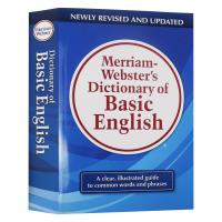 韦氏基础词典 Merriam-Webster's Dictionary of Basic English 英文原版 麦林
