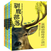 驯鹿部落 黑鹤动物传奇小说全5册 8-10-12岁儿童文学阅读图书 三四五六年级