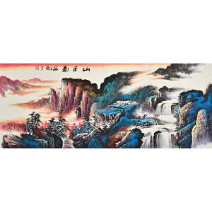 李海白 山居图gs00688