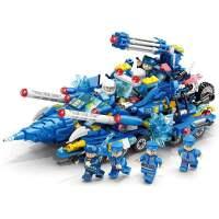 乐迪拼55012城市警察军事模型积木儿童拼装玩具建构/拼插积木中性