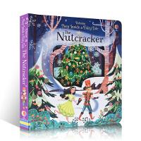 英文原版洞洞翻翻书Usborne Peep Inside a Fairy Tale The Nutcracker 偷偷