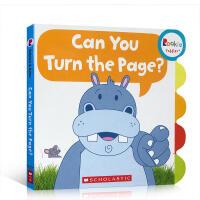 【全店300减100】进口英文原版纸板书Can You Turn the Page?你能翻过这一页吗?儿童启蒙早教童书