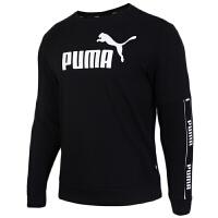 PUMA彪马 男装 运动卫衣休闲圆领套头衫 580437