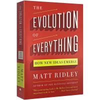 正版 The Evolution of Everything 自下而上 英文原版 万物进化简史 野蛮生长 颠覆思维 史蒂
