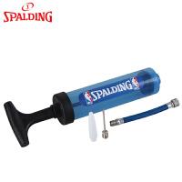 斯伯丁篮球便携式打气筒带球针篮球足球球类针孔气筒体育用品配件