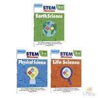 Kumon STEM Missions Grades 3-5 公文式教育STEM任务 创造性思维 批判性思维 地球科学