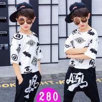儿童街舞演出服男女童现代舞表演中小学生炫酷嘻哈潮幼儿爵士舞套