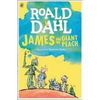 【预售 】英文原版 飞天巨桃历险记(詹姆斯与大仙桃) James and the Giant Peach 罗尔德达尔系列