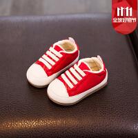 宝宝鞋子男学步鞋1-3岁女秋冬季婴儿软底小童鞋0-2棉鞋6-12个月