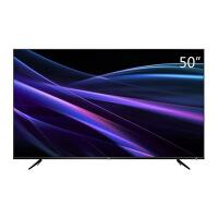 TCL 50P6 50英寸 4K 金属超窄边64位32核HDR人工智能 LED液晶电视机 黑色
