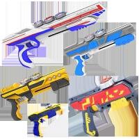 玩具魔幻陀螺单双核三发聚能枪式引擎发射器男孩套装