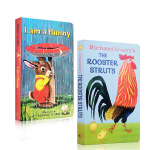 进口英文原版正版 Richard Scarry 斯卡瑞2本I am a Bunny 我是一只兔子The Rooster