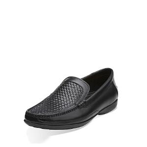 Clarks/其乐男鞋2017秋冬新款商务休闲系带皮鞋Finer Weave专柜正品直邮