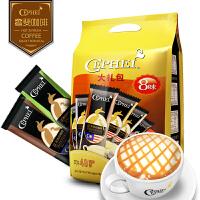 奢斐CEPHEI8味大礼包 马来西亚原装进口三合一速溶白黑咖啡粉组合