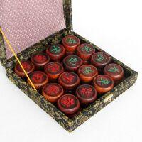 大红酸枝木制大码红木中国象棋实木质6厘米大号家用棋子