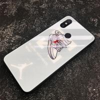 小米8手机壳潮牌小米8se青春屏幕指纹探索版个性创意玻璃壳
