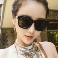 墨镜 太阳镜男女同款 潮圆脸欧美复古时尚眼镜