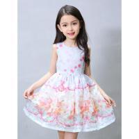 连衣裙夏装儿童蓬蓬裙中童韩版女孩公主童装新款女童连衣裙子可礼品卡支付