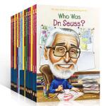 英文原版who was who is 系列18本套装作家 名人传记 Dr. Seuss Helen Keller An
