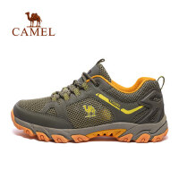camel 骆驼户外徒步鞋 情侣款春夏透气结实耐穿登山鞋