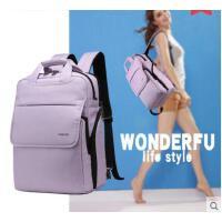 简约设计时尚大方手提包旅行包电脑背包双肩包女韩版多功能学生书包男