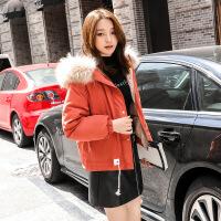 小个子欧货薄羽绒服女2018新款短款150cm潮时尚白鸭绒欧洲站外套 砖红色
