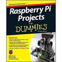 【预订】Raspberry Pi Projects For Dummies 9781118766699