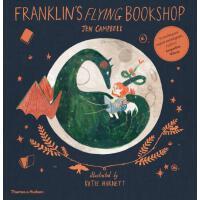 现货 富兰克林的飞行书店 英文原版 Franklin's Flying Bookshop 儿童绘本 平装 Jen Ca