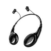 双耳蓝牙耳机无线运动跑步头戴挂脖式单入耳耳塞音箱重低音炮男女通用苹果手机开车oppo苹果vivo 标配