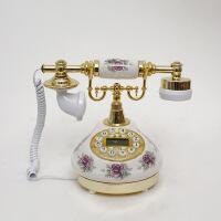 至臻精品陶瓷仿古电话 时尚可爱 田园创意复古座机欧式 家用办公