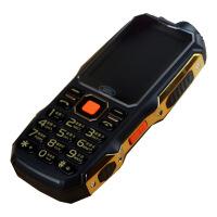 【礼品卡】三防机金迪卡T9000 2.8英寸长待机双卡充电宝QQ微信强光手电老年手机